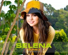Papel de parede Selena Gomez – De Chapéu