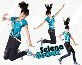 Papel de parede Selena Gomez – De Franja