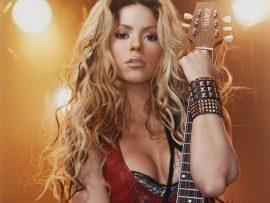Papel de parede Shakira – Canta