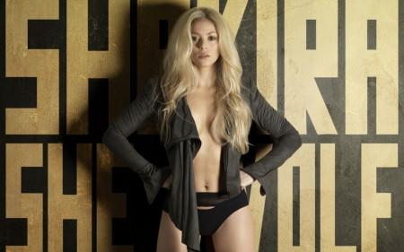 Papel de parede Shakira – She Wolf para download gratuito. Use no computador pc, mac, macbook, celular, smartphone, iPhone, onde quiser!