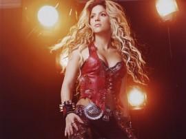 Papel de parede Shakira Iluminada