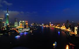 Papel de parede Xangai: Rio Huangpu