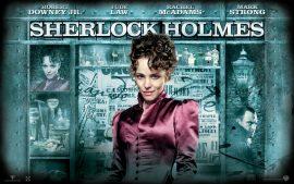 Papel de parede Sherlock Holmes – Cartaz 3