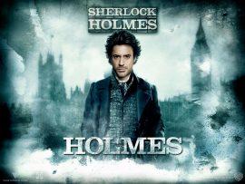 Papel de parede Sherlock Holmes – Holmes