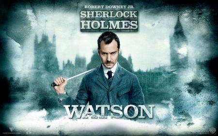Papel de parede Sherlock Holmes – Watson para download gratuito. Use no computador pc, mac, macbook, celular, smartphone, iPhone, onde quiser!