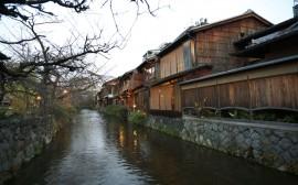 Papel de parede Shirakawa of Gion, Japão