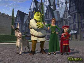 Papel de parede Shrek #8