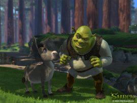 Papel de parede Shrek #9