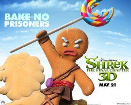 Papel de parede Shrek Forever – Biscoito
