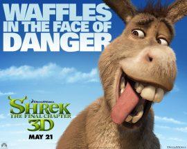 Papel de parede Shrek Forever – Burro