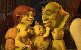 Papel de parede Shrek Forever – Família