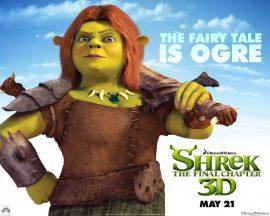 Papel de parede Shrek Forever – Fiona