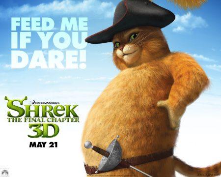 Papel de parede Shrek Forever – Gato de Botas para download gratuito. Use no computador pc, mac, macbook, celular, smartphone, iPhone, onde quiser!