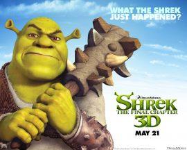 Papel de parede Shrek Forever – Ogro