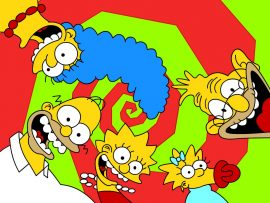 Papel de parede Simpsons #3