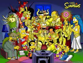 Papel de parede Simpsons do Zodíaco
