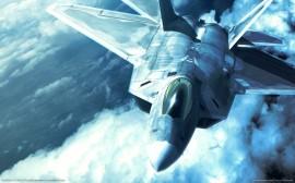 Papel de parede Simulação de Avião de Combate