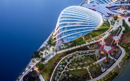 Papel de parede Vista Aérea de Singapura para download gratuito. Use no computador pc, mac, macbook, celular, smartphone, iPhone, onde quiser!