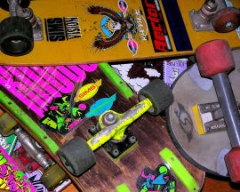Papel de parede Skate – Vintage
