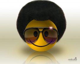 Papel de parede Smile Black Power