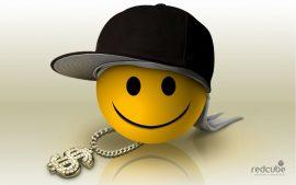 Papel de parede Smile hip-hop