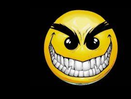 Papel de parede Smile Sarcástico