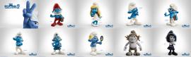 Papel de parede Smurfs 2, Personagens