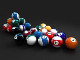 Papel de parede Snooker – 3D