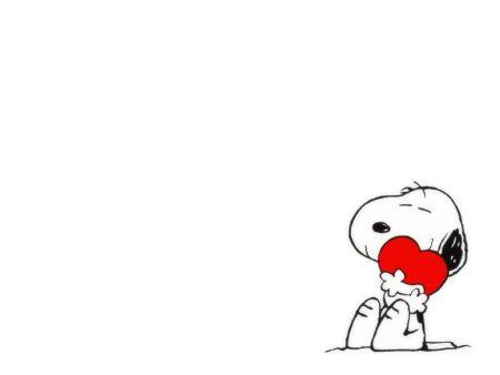 Papel de parede Snoopy – Coração para download gratuito. Use no computador pc, mac, macbook, celular, smartphone, iPhone, onde quiser!
