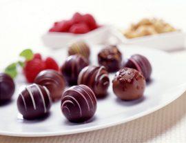 Papel de parede Sobremesa – Chocolate