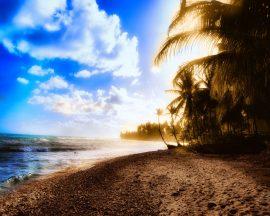 Papel de parede Sol na Praia