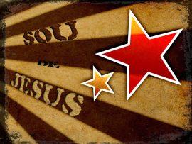 Papel de parede Sou de Jesus