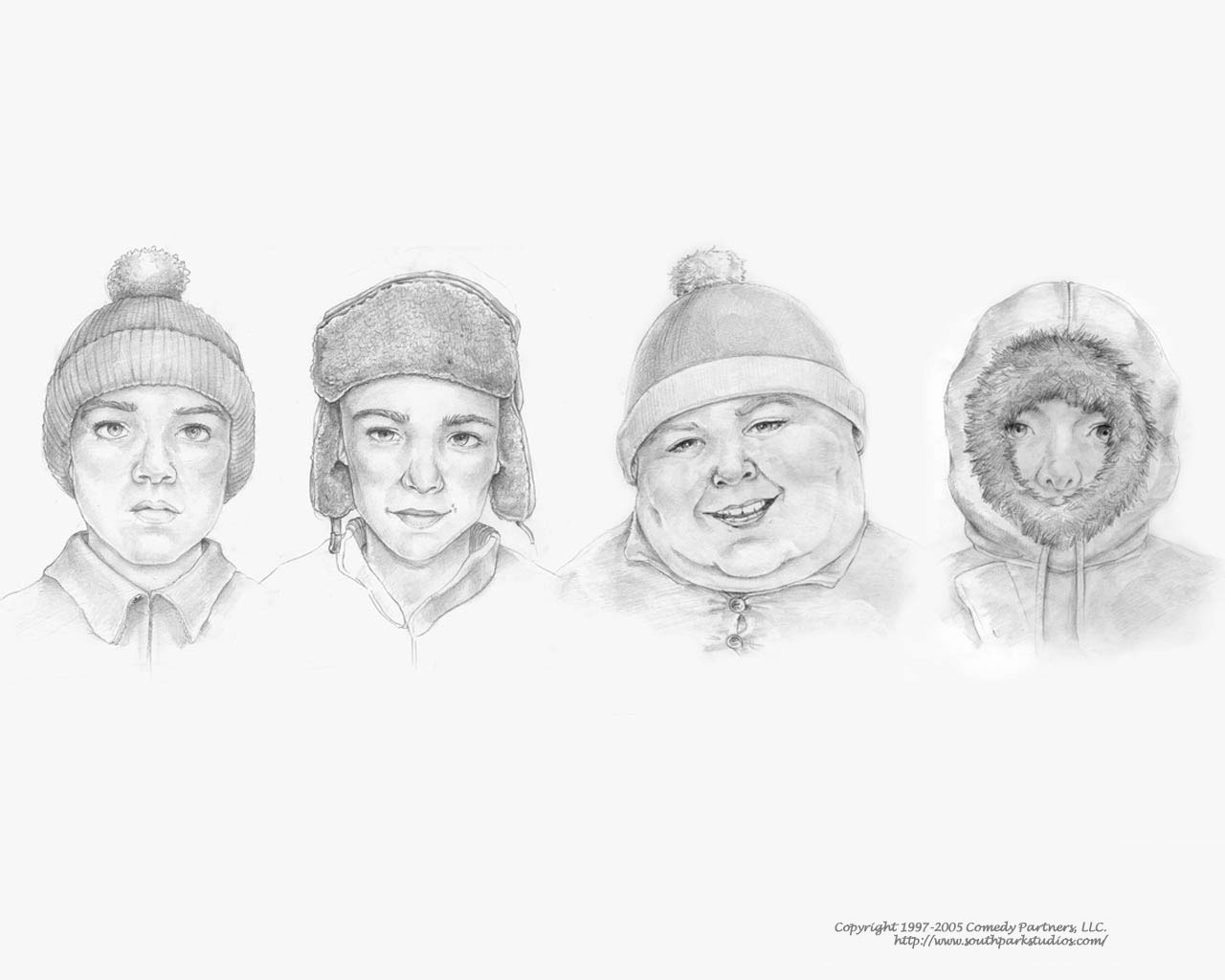 Papel De Parede South Park Realista Wallpaper Para