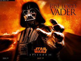 Papel de parede Star Wars – Dart Vader