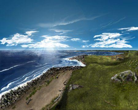 Papel de parede Sunshine Beach para download gratuito. Use no computador pc, mac, macbook, celular, smartphone, iPhone, onde quiser!