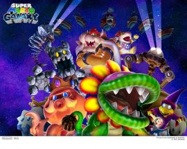 Papel de parede Super Mario Galaxy – Chefões