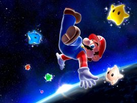 Papel de parede Super Mario galaxy – Estrelas Mágicas