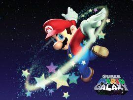 Papel de parede Super Mario Galaxy – Estrelas