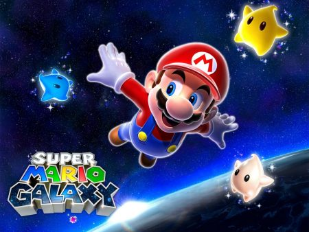 Papel de parede Super Mario Galaxy – Mario para download gratuito. Use no computador pc, mac, macbook, celular, smartphone, iPhone, onde quiser!