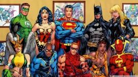 Papel de parede Super Heróis, DC Comics