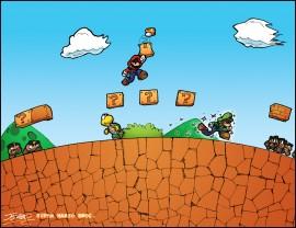 Papel de parede Super Mario Bros Arc Zero