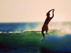Papel de parede Surf Londboard