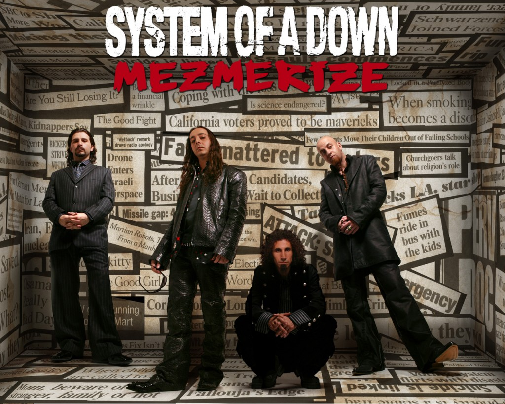 Papel de parede System Of a Down – Mezmerize para download gratuito. Use no computador pc, mac, macbook, celular, smartphone, iPhone, onde quiser!