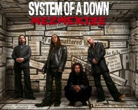 Papel de parede System Of a Down – Mezmerize