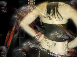 Papel de parede Tattoo – Jovem
