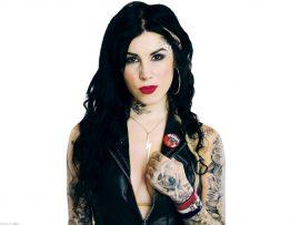 Papel de parede Tattoo – Kat Von D