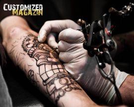 Papel de parede Tattoo – Tatuando