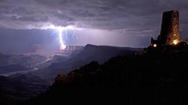 Papel de parede Tempestade com Raios