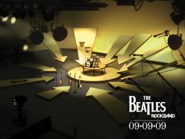 Papel de parede The Beatles Rockband
