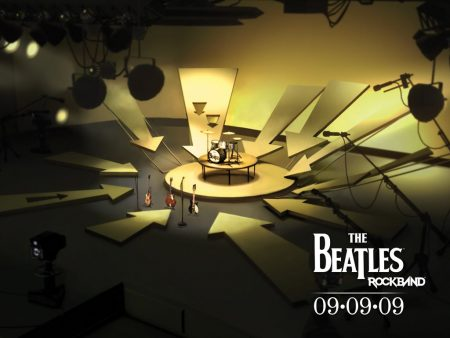 Papel de parede The Beatles Rockband para download gratuito. Use no computador pc, mac, macbook, celular, smartphone, iPhone, onde quiser!